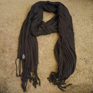 Francesca's Collections Accessories - Francesca's Black Scarf