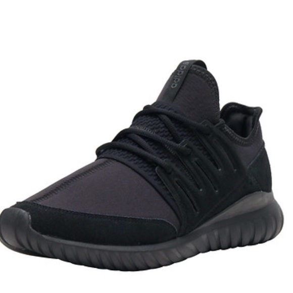 buy popular f78b8 addde Adidas Mens Tubular Radial Sneakers In Black.