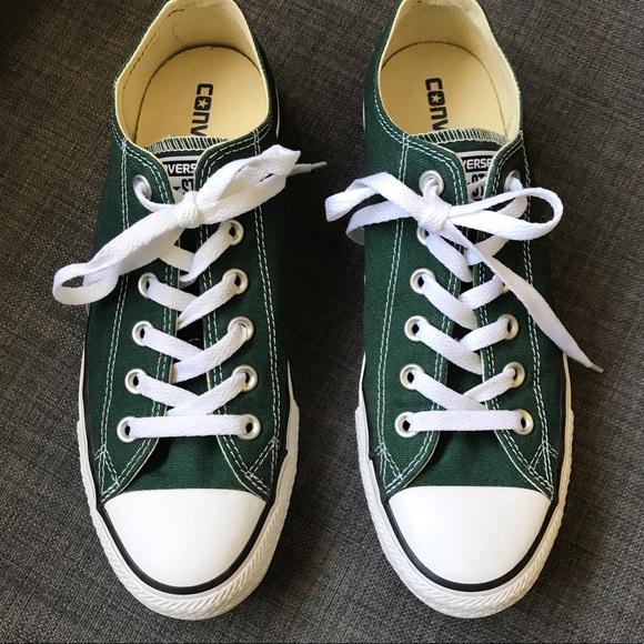 3f2fbef2428a Converse Shoes - Converse Chucks in Pine Green