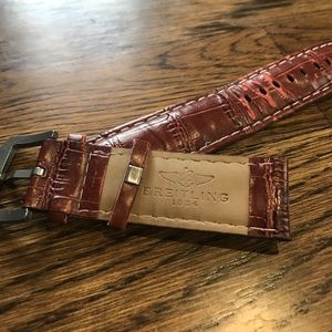 Breitling Other - Genuine Leather Breitling Wristband