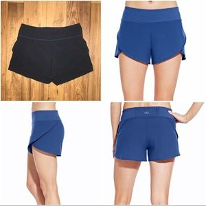 CALIA by Carrie Underwood Pants - Black Journey Flutter Running Shorts