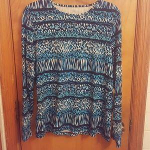 Kim Rogers  Tops - Never worn long sleeved shirt Size XL