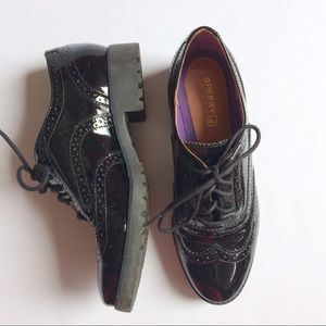 "Sperry Top-Sider Shoes - Sperry Top Sider ""Ashbury"" Patent Leather Oxford"