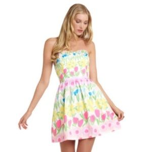Lilly Pulitzer Floral Line Dance Dress