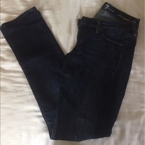 Denim - 7 for All Mankind Straight Leg Jeans