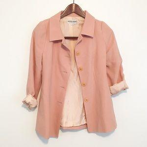 Giorgio Armani Jackets & Blazers - Vintage Armani Blush Blazer Wool Lined Spring Pink