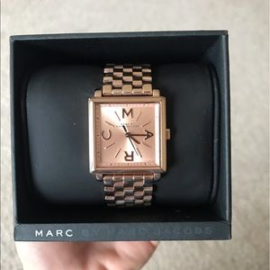 Rose Gold Marc Jacobs Watch - Like New!