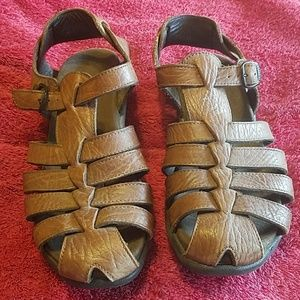 Mephisto Shoes - *Reduced* Mephisto Brown Leather Sandals