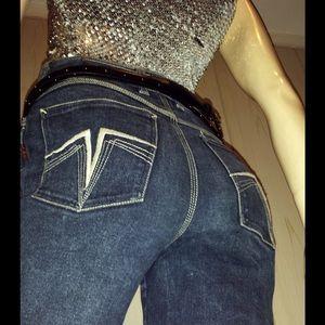Sergio Valente Denim - VTG 70s SERGIO VALENTE High Waisted Disco Jeans 29