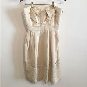 Anthropologie Cream Dress