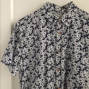 Cactus Other - Men's flower print button up