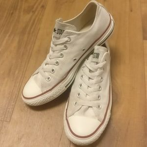 Converse Shoes - Classic White Converse Low Tops