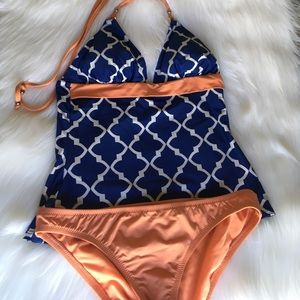 Daniel Cremieux Other - Cremieux Tankini Halter and Bottoms