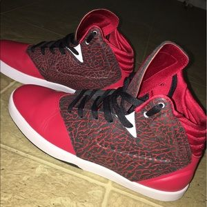 Nike Shoes - Red Leather and Cheetah Print Kobe's