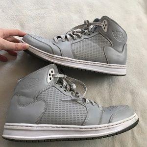 Nike Other - Nike Air Jordan Prime 5 Gray/White Basketball Shoe