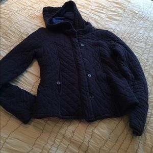 Jackets & Blazers - Quilted Navy Jacket