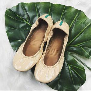 Tieks Shoes - Tieks Nude Patent Leather