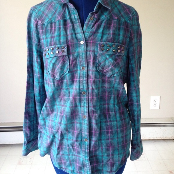 68 Off Rock Republic Tops Rock Republic Button Down