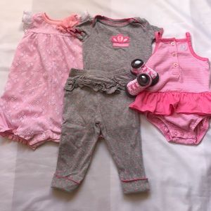 Carter's Other - 5 piece pink bundle.