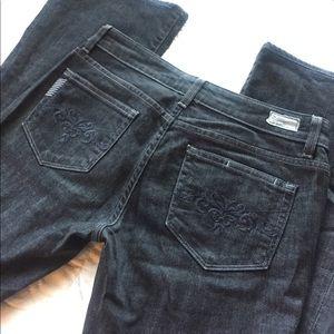 Paige Jeans Denim - Black Paige Jeans 28