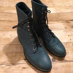 Laredo Shoes - Vintage Laredo western roper boots sz 7