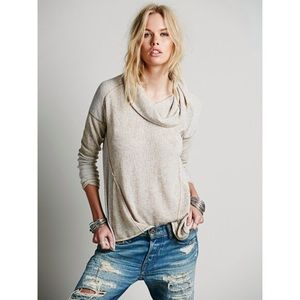 Free People Sweaters - We the free beatnik hacci turtleneck sweater L