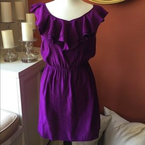 Amanda Uprichard Dresses & Skirts - Amanda Uprichard Magenta Silk Dress