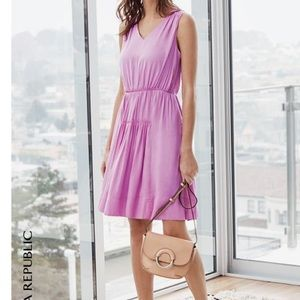 Banana Republic Dresses & Skirts - Banana Republic goddess mini violet dress 0