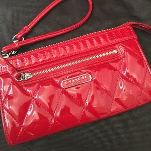 Coach Handbags - 💯% Authentic Pre-loved Coach Wristlet