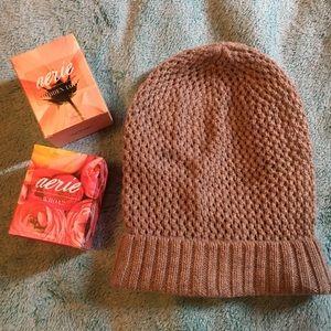 aerie Accessories - Aerie knit beanie hat