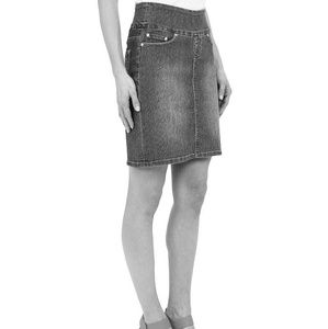 Jag Jeans Dresses & Skirts - JAG Jeans pull on jean skirt