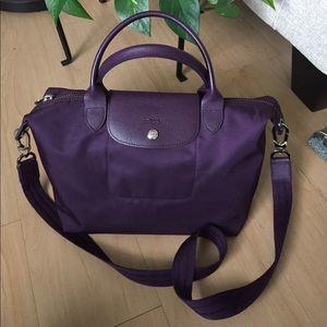 Longchamp Handbags - Longchamp 'Small Le Pliage Neo' Nylon Tote