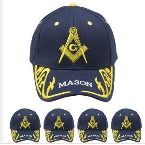 Other - Mason cap hat women men dark blue cap's hat's