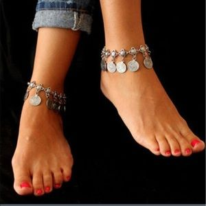 Jewelry - 🆕 Gold coin anklet 🦋🦄