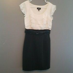 kohls Dresses & Skirts - IZ Byer Kohls Dress Black w Belt Small