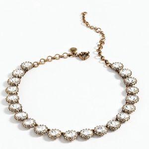J. Crew Jewelry - J Crew crystal necklace.