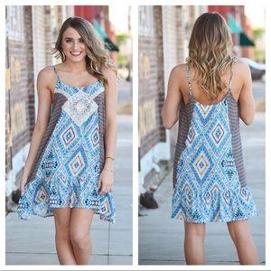 Dresses & Skirts - • sundress • tribal print •