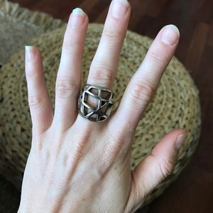 Low Luv x Erin Wasson Jewelry - Low Luv by Erin Wasson Domed Caged Ring