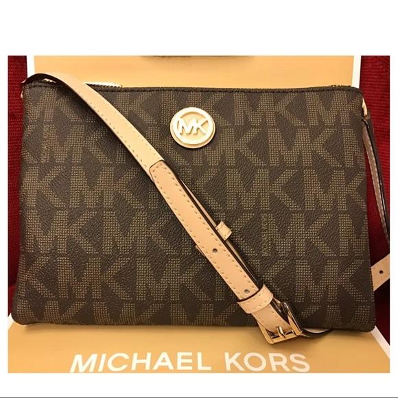9d5f89831d16d5 MICHAEL Michael Kors Bags | Nwt Mk Fulton Large Ew Crossbody Bag ...