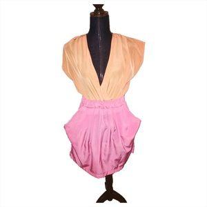 Ali & Kris Dresses & Skirts - Ali Kris orange and pink dress