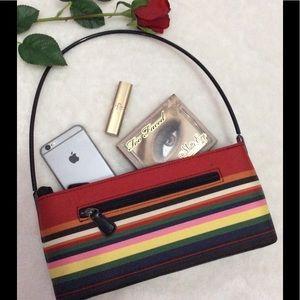 Unbranded Handbags - 🌈Boutique Multicolor Stripe Multi Compartment Bag