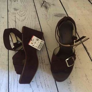 Nwt Zara platform sandals