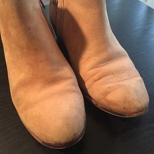 a9dd176870a474 Sam Edelman Shoes - Sam Edelman Petty Ankle Boot Honey Nubuck Leather