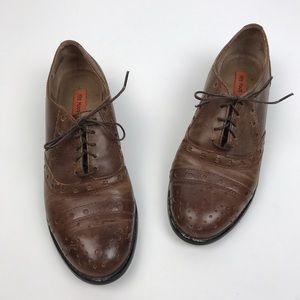Miz Mooz Shoes - [Miz Mooz] Monaco Oxford Lace Up Brogues Brown 8