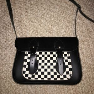 The Cambridge Satchel Company Handbags - Cambridge satchel company checkered messenger bag
