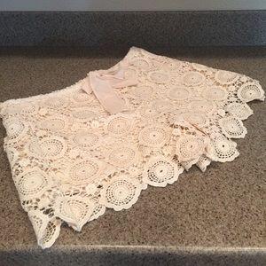 Soulmates Pants - Crochet shorts