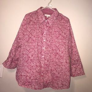 Coldwater Creek Tops - Voile shirt PXL Top