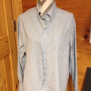 Izod Other - Izod easy care long sleeve button down shirt large