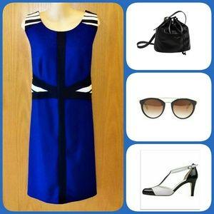 Catherines Dresses & Skirts - Catherine's Colorblock Sheath SZ 14-16