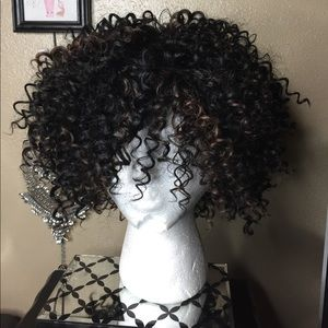 Accessories - New Curly Wig